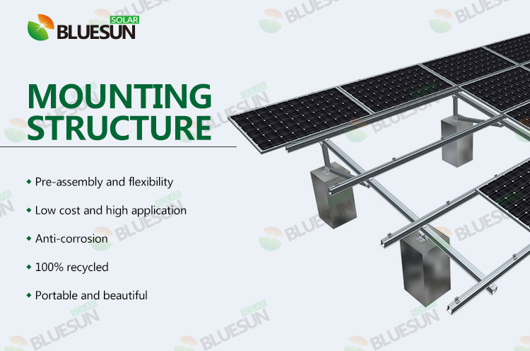 solar ground mount racking