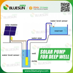 high pressure solar water pumps