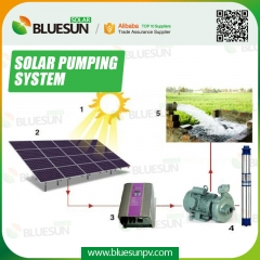 solar water pump irrigation system