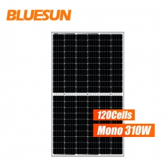 Bluesun mono 120 cells 310w 310 watts perc solar panel half cell solar panel