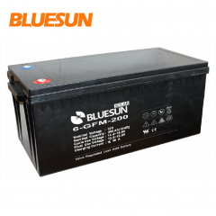 12V 200ah AGM best rechargeable battery type