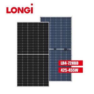 LR4-72HBD 166mm Half Cell 440W 440 Wp Mono Solar Panel
