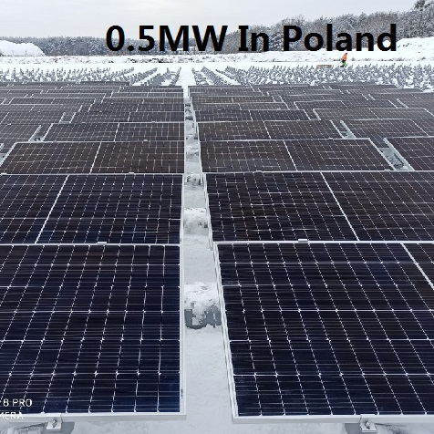 Bluesun 0.5MW Floationg Solar Power Plant In Poland
