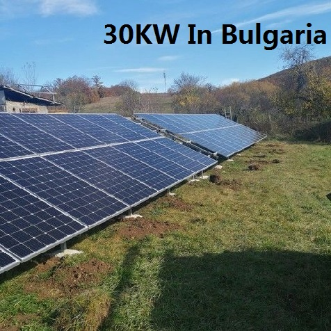 Bluesun 30KW Solar System In Bulgaria